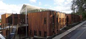 Exterior of the SAMi Environmental Learning Center